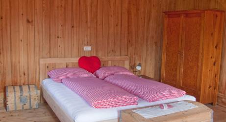Schlafzimmer Almkammer