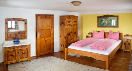 Schlafzimmer Zirbenkammer